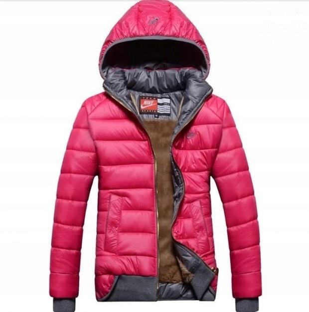 Nike pikowana kurtka jesień zimowa ML `POLSKA`