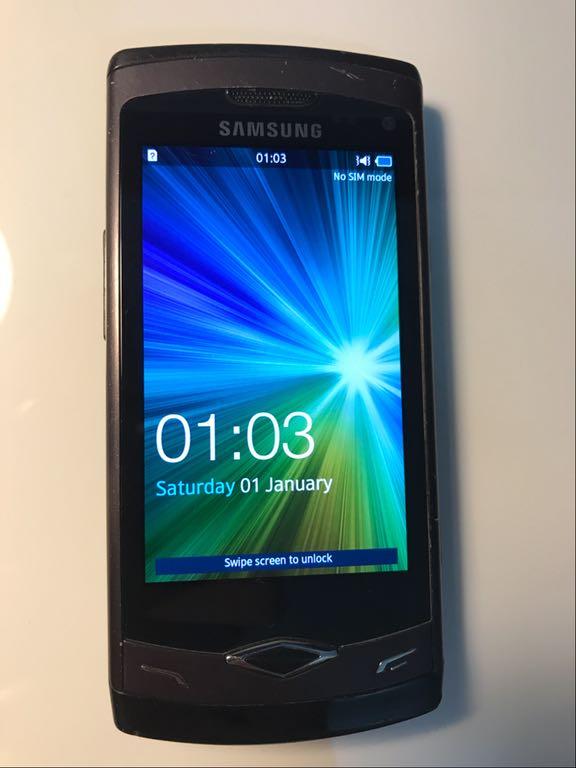 Samsung Wave I Gt S8500 Sprawny Hebanowo Szary 7133478491 Oficjalne Archiwum Allegro