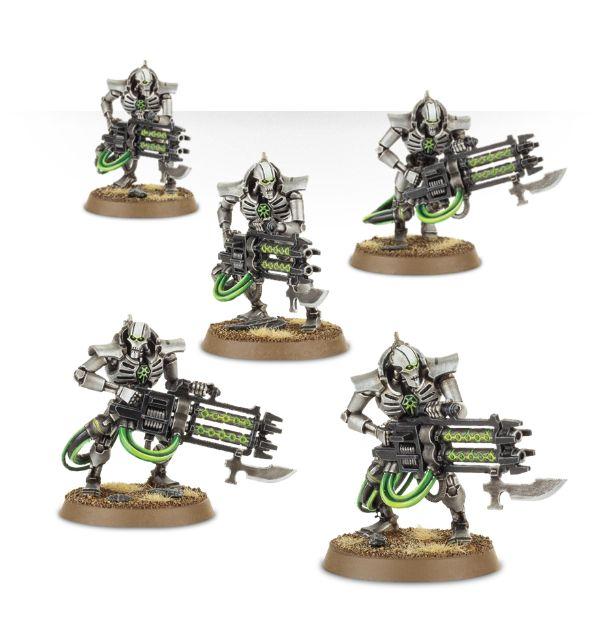Warhammer 40 000 40k Figurki Necron Immortals 6921801016 Oficjalne Archiwum Allegro