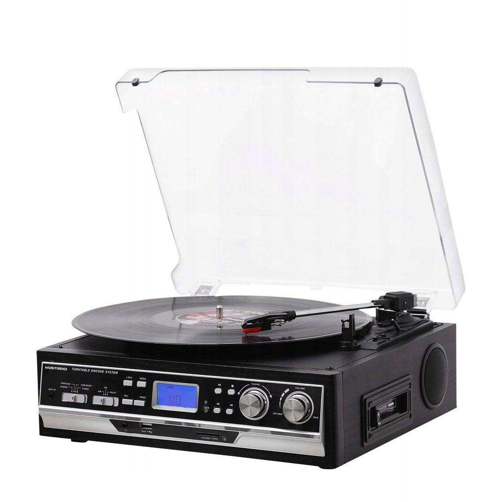 Podłącz gramofon do odbiornika