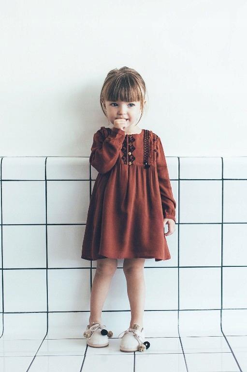 Zara ruda sukienka tunika 92