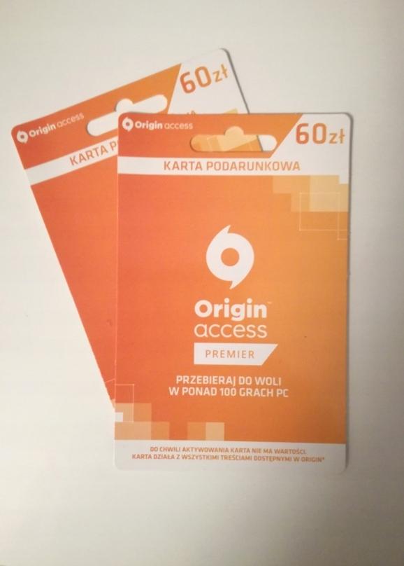Origin Access Premier Za 50 Wartosci 7760593743 Oficjalne Archiwum Allegro