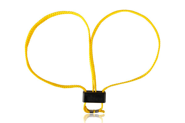 Kajdanki taśmowe ESP żółte - 5 szt. (HT-01-Y)