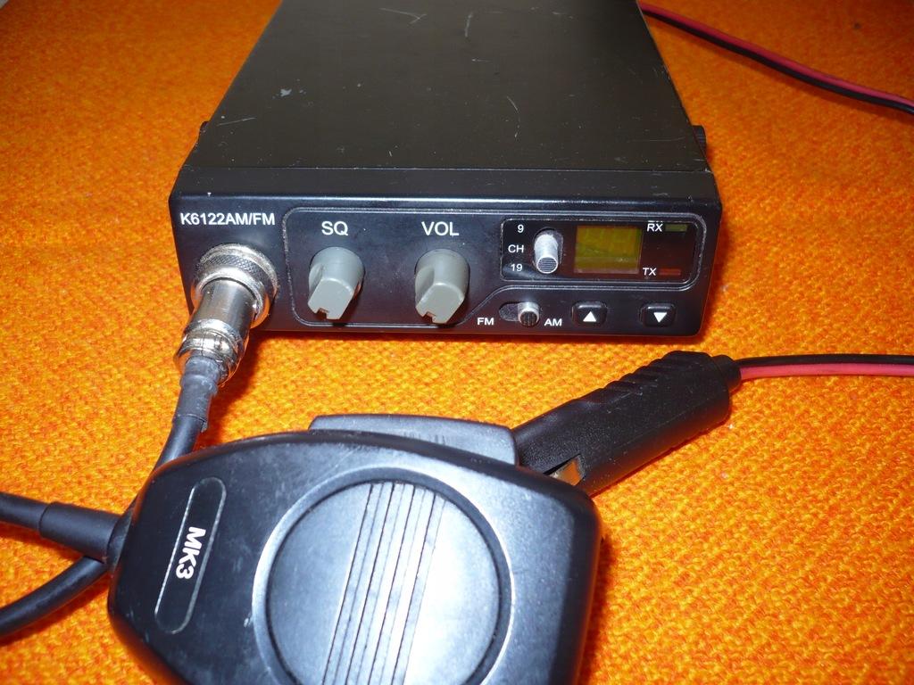 CB RADIO K6122 AM FM