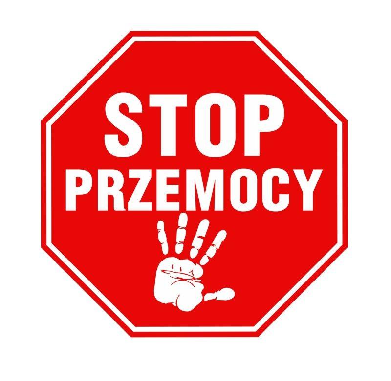 Naklejka znak zakazu Stop Przemocy 15 cm DE08 - 6895063768 - oficjalne  archiwum Allegro