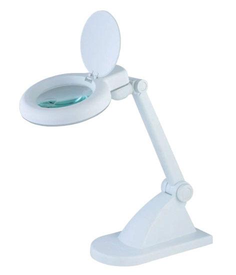 Lampa z lupą 3D +12D biurkowa kosmetyczna _ 8092