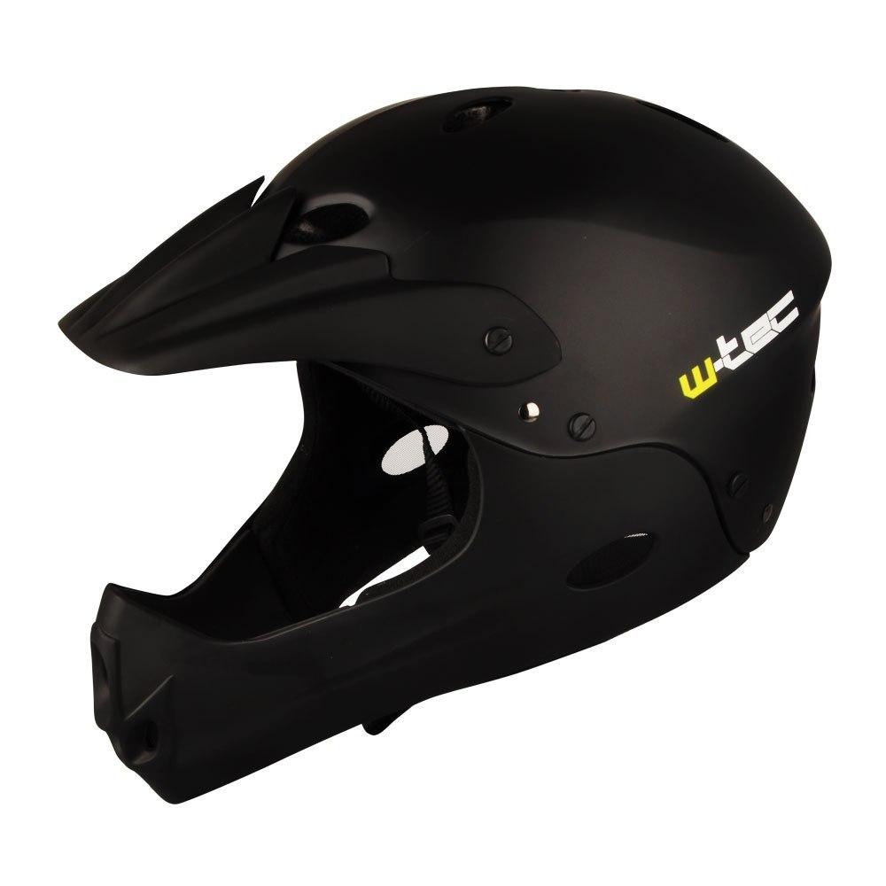 Kask downhillowy W-TEC Downhill - Kolor Czarny, Ro