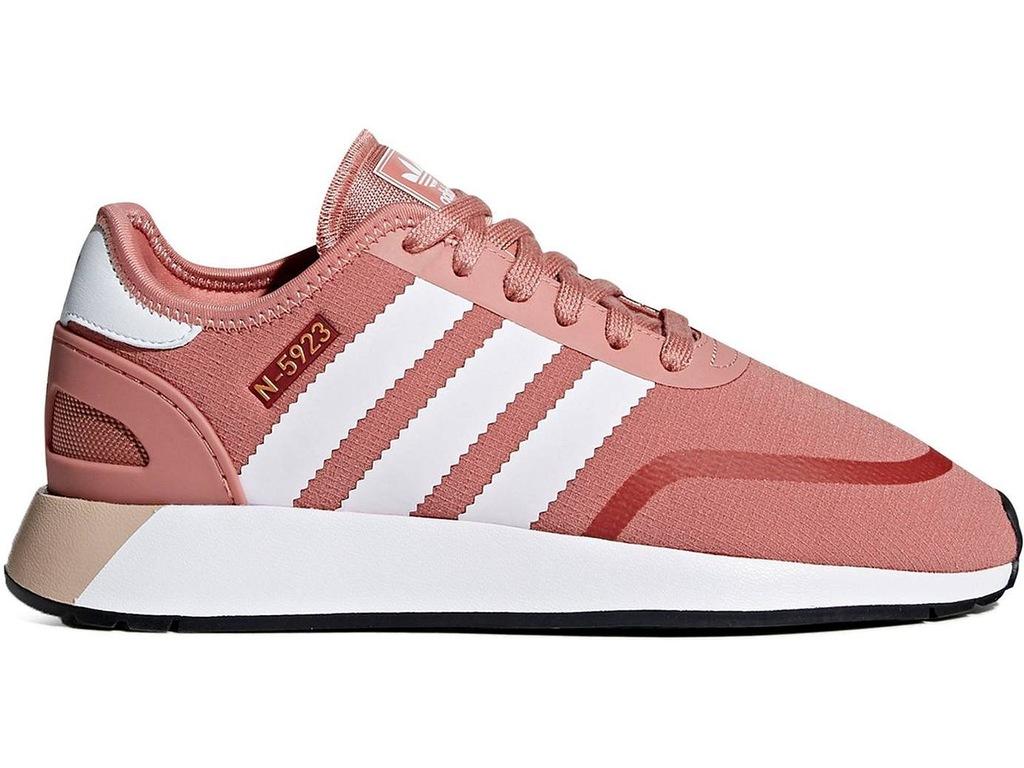 Jasne BUTY Sportowe ADIDAS Sneakersy Damskie r. 38
