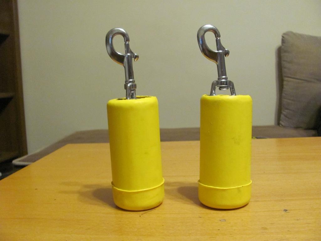 "Balast nurkowy ""RED BULL"" 2x2,5 kg"