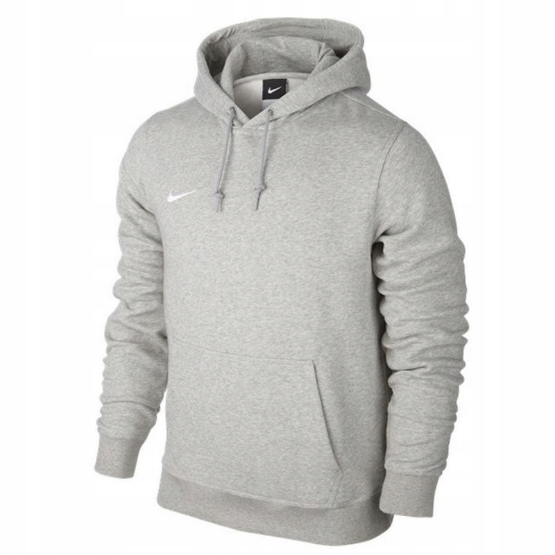 bluza team club hoody junior czarna