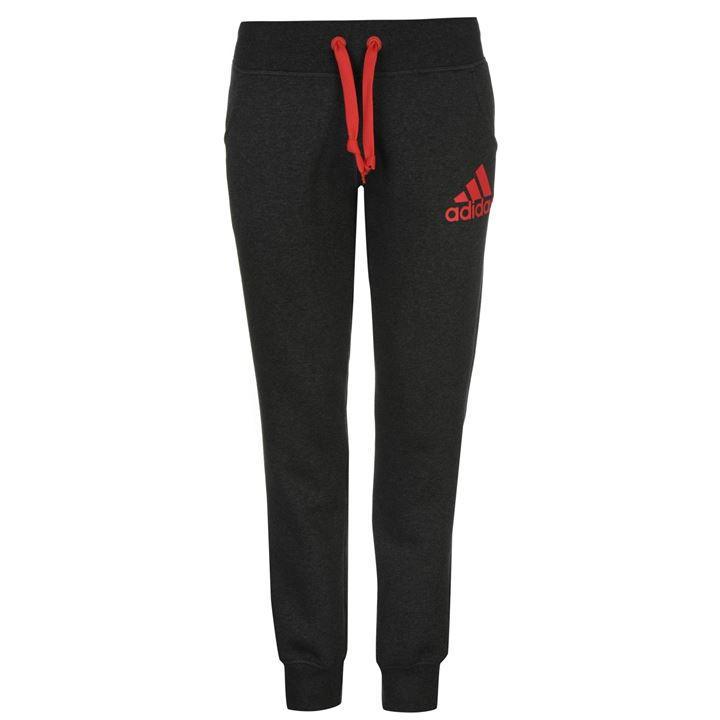 ADIDAS Spodnie dresowe rurki damskie bawełniane M