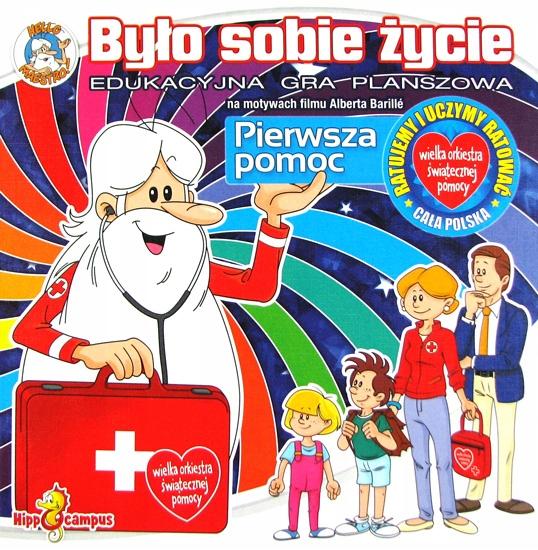Bylo Sobie Zycie Pierwsza Pomoc Gra Planszowa 7682860548 Oficjalne Archiwum Allegro