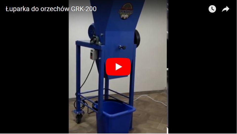 Luparka Do Orzechow Grk 200 Silnik 0 75 1 1 Kwt 7162902097 Oficjalne Archiwum Allegro