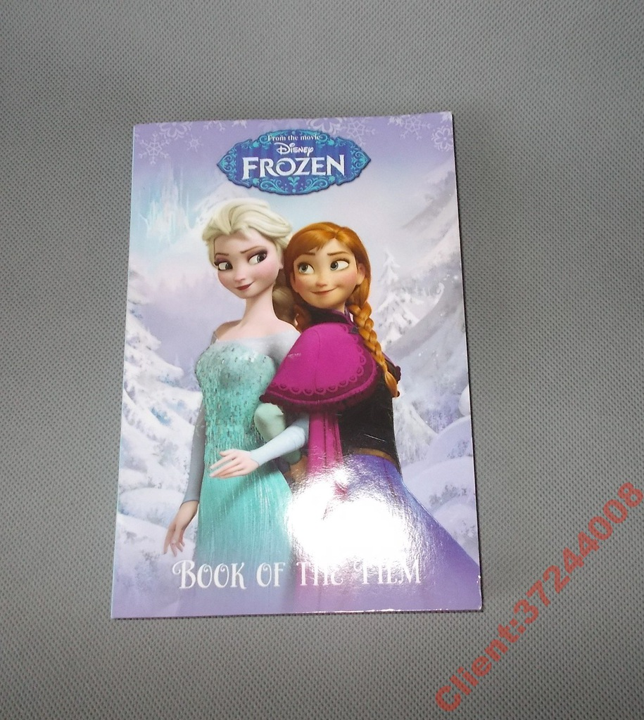 Disney Frozen Kraina Lodu Ksiazka J Angielski 6359429199 Oficjalne Archiwum Allegro
