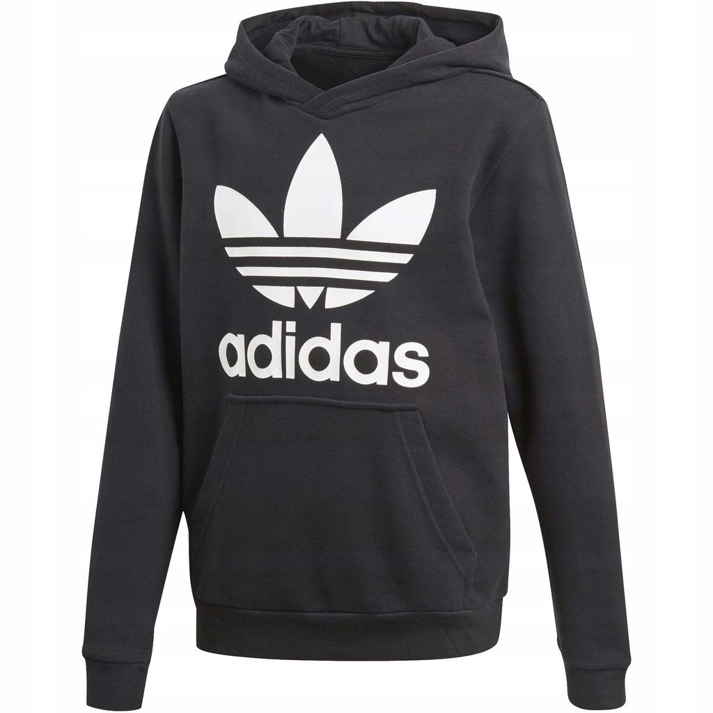 bluza adidas junior czarna 156