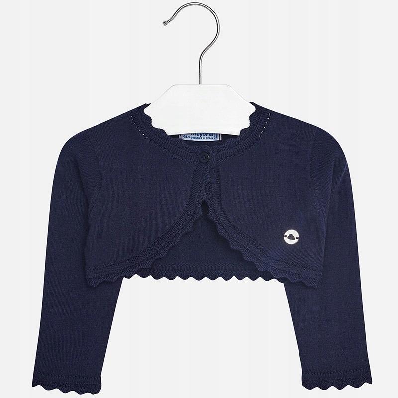 Sweterek rozpinany Mayoral rozm. 80 Granatowy