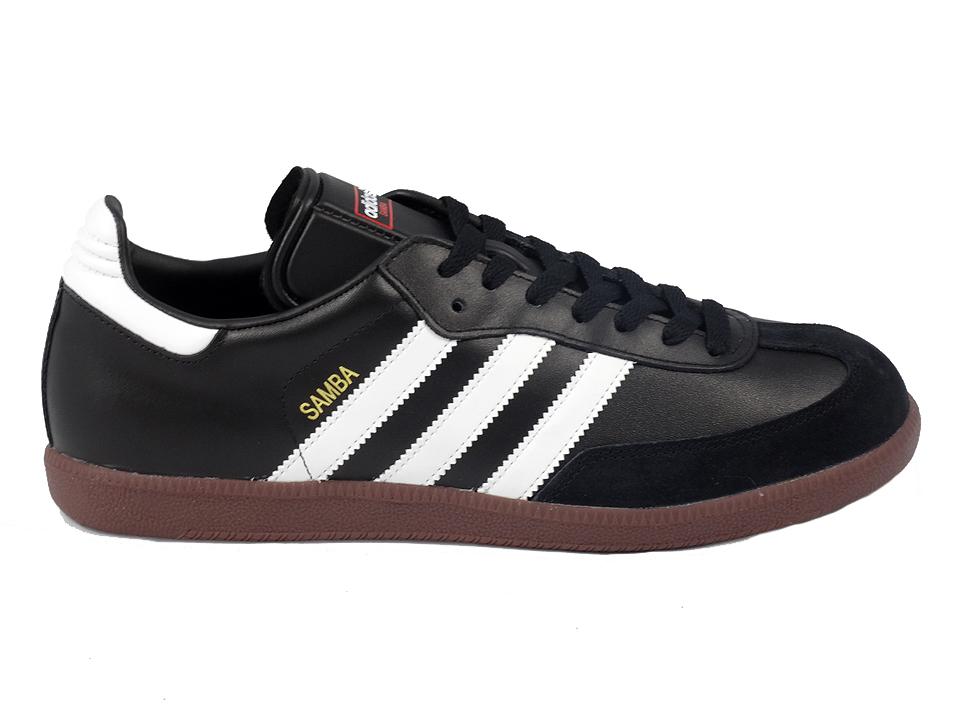 Adidas Samba skórzane buty Męskie(czarne białe buty
