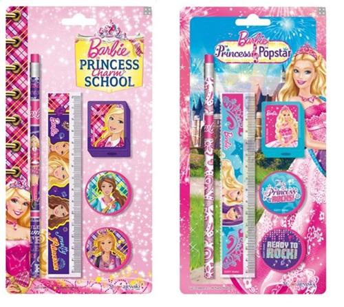 Barbie ZESTAW SZKOLNY 5 ELEMENTÓW 20565 W-wa
