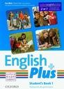 English Plus 1 Student's Book + kod do ćwiczeń onl