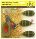 3 x koszyk + foremka EXTRA CARP METHOD FEEDER 7203