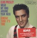 PRESLEY ELVIS wear my ring | doncha _(single CD)_