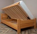 AZYL 90x200 łóżko z wysokim siedziskiem +150 kg