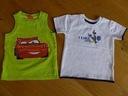 2 x AUTA CARS bluzka koszulka T-shirt 2-3 98 cm