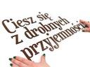 Twój tekst litery z drewna Napisy na ścianę 3-9cm
