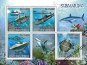 Rekiny i Łodzie podwodne Sao Tome ark. ** #ST9315a