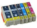 6x Tusz Epson T2621 XP510 XP600 XP605 XP610 CHIP