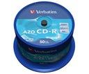 Verbatim CD-R Crystal  Azo Cake 50 Super promocja