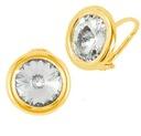 Goldene Clips Rivoli Kristall Swarovski Leuchten Online