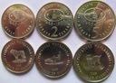 MACEDONIA zestaw 3 monet FAO