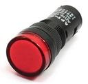 KONTROLKA LED 19mm CZERWONA 12V paragon fv(3801)