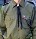 Bluza harcerska zielona ZHP, mundur 164/88