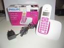 Telefon bezprzewodowy Philips CD1911 - różowy pink