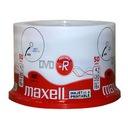 Płyty MAXELL DVD-R do nadruku BIAŁE printable 100