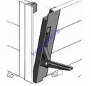 Zamknięcie burty aluminiowej pionowe H 400 burta