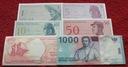 ZESTAW BANKNOTÓW INDONEZJA !!! STAN UNC !!! SUPER