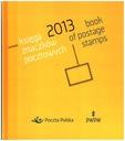 Księga znaczków pocztowych - Rocznik 2013
