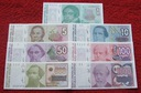 ZESTAW BANKNOTÓW ARGENTYNA !!! STAN UNC !!! SUPER