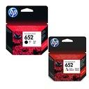 2 HP 652 Tusz 3835 2130 3630 3775 drukarki DeskJet