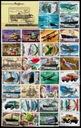СССР. 100 тематических марок в пакете