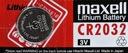 5x CR2032 BATERIA LITOWA MAXELL Japan DL2032 2032