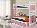Łóżko piętrowe 3 osobowe SAMBOR