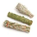 Biała szałwia, cedr, bylica zestaw oczyszczający