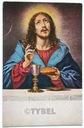 Pocztówka Jezus wieczerza WŁOCHY stara z obieguwPL