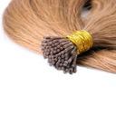 50cm 52CM Naturalne Włosy GRUBE PASEMKA 1G gramowe