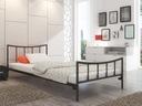 Łóżko metalowe do Twojej sypialni 120x200 wzór 12