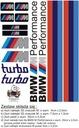 Zestaw BMW M Power 3D , druk HIT !!!!!!!!